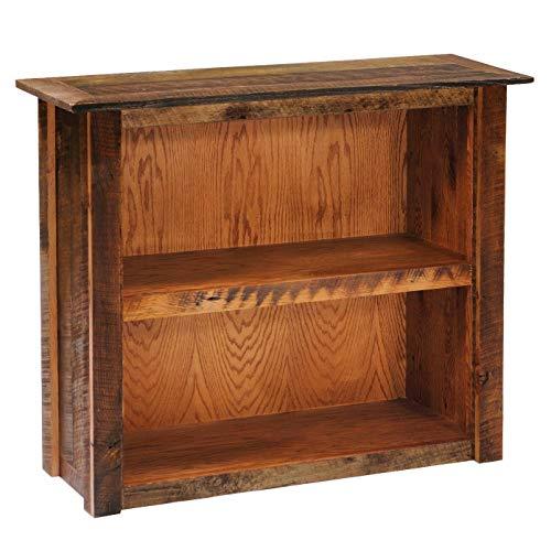 Lodge Shelf - Barnwood Bookshelf - Small, Medium, Large