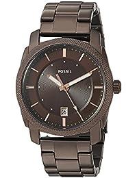 Men's 'Machine' Quartz Stainless Steel Casual Watch, Color:Brown (Model: FS5370)