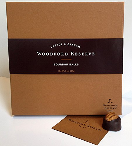 Woodford Reserve Bourbon Ball Gift Box, 16 Candies per box, delicious and perfect for holiday gifts by Woodford Reserve