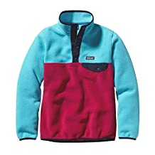 Patagonia Girls Unisex Fleece Pullover, M, Blue
