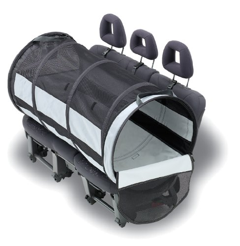 Petego Pet Tube Car Kennel, Large ()