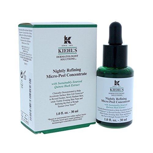 Kiehl's Nightly Refining Micro-peel Concentrate Treatment for Women, 1 Ounce