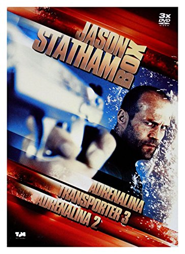 Crank / Crank: High Voltage / Transporter 3 (BOX) [3DVD] (English audio)