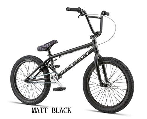 【BMX STREET】【ストリート】【20インチ】WETHEPEOPLE 2018/CURSE 20.25 B0755WS1VX MATT BLACK MATT BLACK