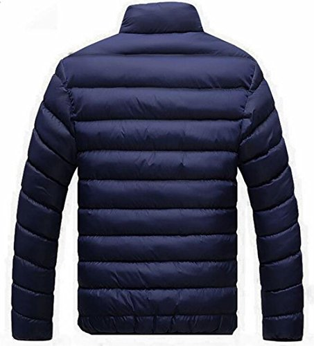 Blue Coat Men's Warm Winter Fashion EKU Collar Stand US Down Zip Jackets M xvOwqwfYWA