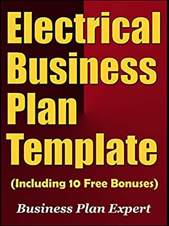 amazon com electrical business plan template (including 10 Visual Business Plan