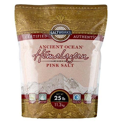 Ancient Ocean Himalayan Pink Salt, Extra Fine, 25 Pound ()