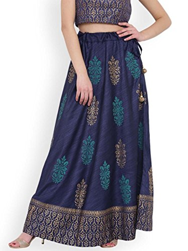 Studio rasa Women Bhagalpuri Hand Block Printed Skirt