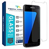 Tech Armor Premium Ballistic Glass Screen Protector for Samsung Galaxy S7 [1-Pack]