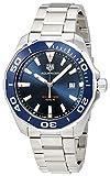 TAG Heuer Men's Aquaracer 43mm Steel Bracelet Quartz Watch WAY101C.BA0746