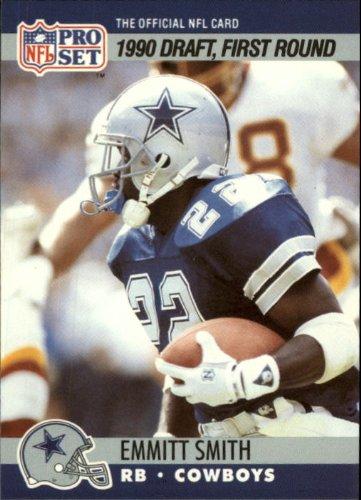 Emmitt Smith Memorabilia (1990 Pro Set #685 Emmitt Smith Rookie Card - NM)