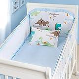 Set of 4 Nursery Baby Bassinet/Crib Bedding