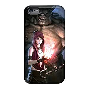 Apple Iphone 6 EMZ13619olvm Allow Personal Design Stylish Dragon Age Origins Morrigan Monster Pictures Shock Absorption Hard Phone Covers -JohnPrimeauMaurice