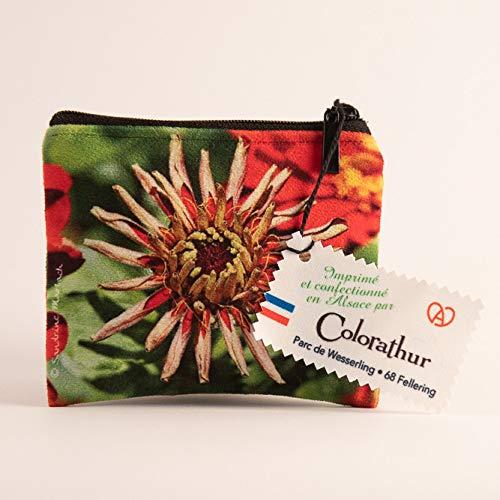 Sandrine Marbach - Monedero para Mujer, diseño de Flores ...