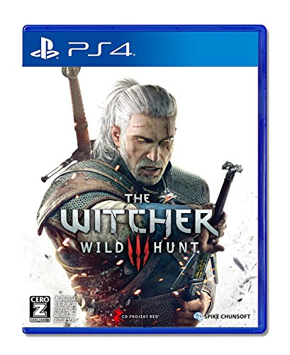 The Witcher 3 Wild Hunt (PS4) Japanese PS4