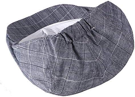 野球帽 キャスケット メンズ ハット ゴルフ 綿 調整可能 ソフト 格子柄 レトロ ハンチング LWQJP (Color : 2, Size : Free size)