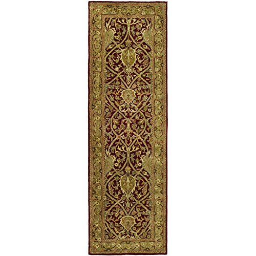 Safavieh Persian Legend Collection PL819K Handmade Traditional Red and Gold Wool Runner (2'6