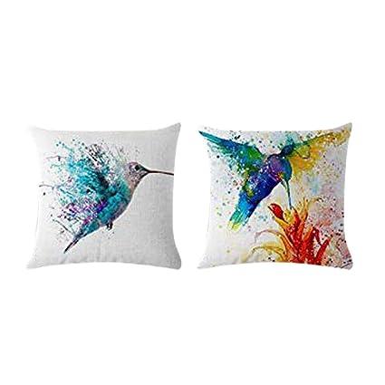 Home Decor Cushion Cover Graffi Style Throw Pillowcase Pillow Covers