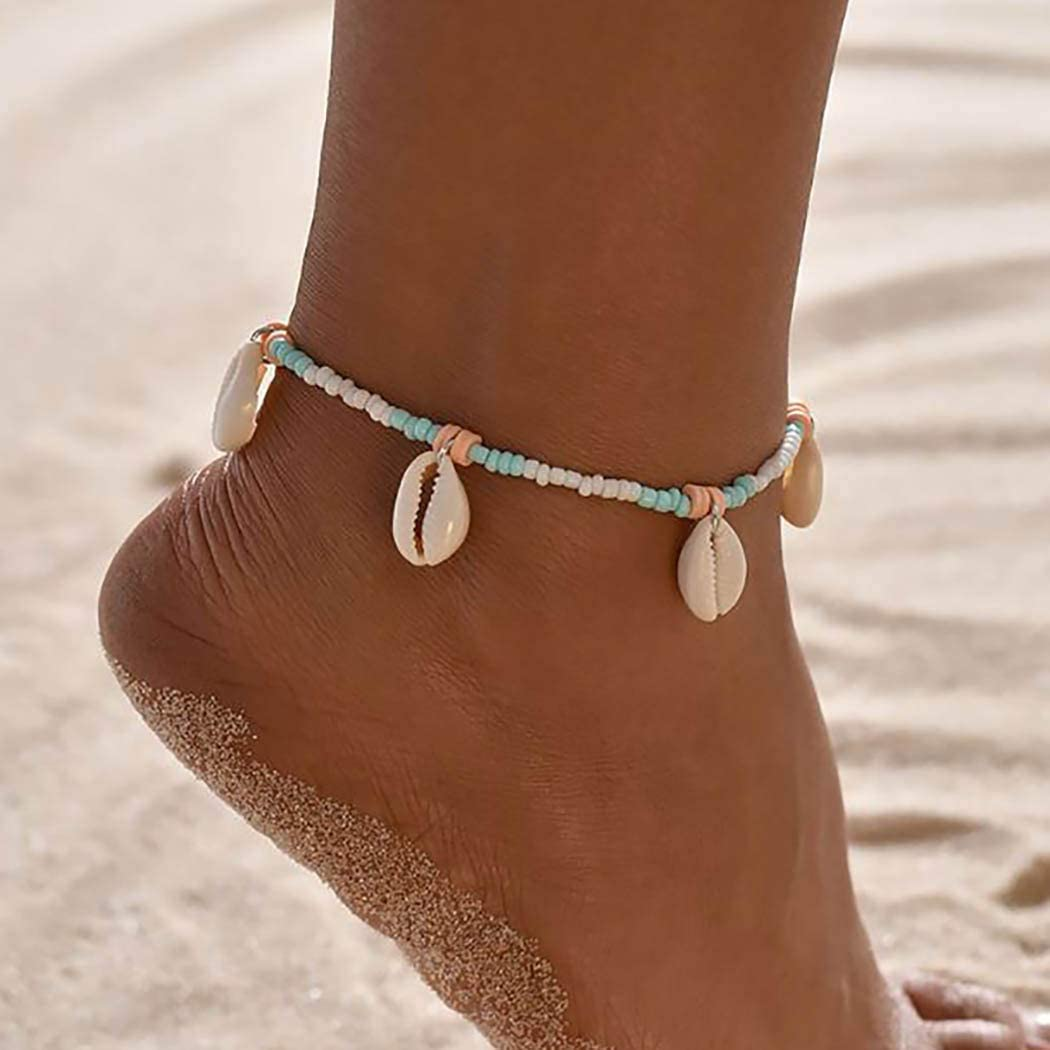 Simple Summer Anklet Boho Anklet Ankle Bracelet Silver Anklet Anklet For Women Beach Anklet