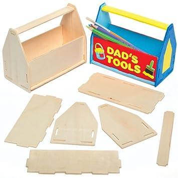 Stiftehalter Bastelsets Werkzeugkasten Für Kinder Zum Basteln Und