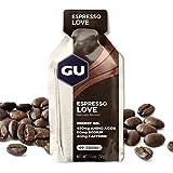 GU ENERGY Original Sports Nutrition Energy Gel, Espresso Love, 24-Count