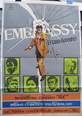 Cartel cine - Movie Poster : EMBASSY, EL CASO GORENKO ...