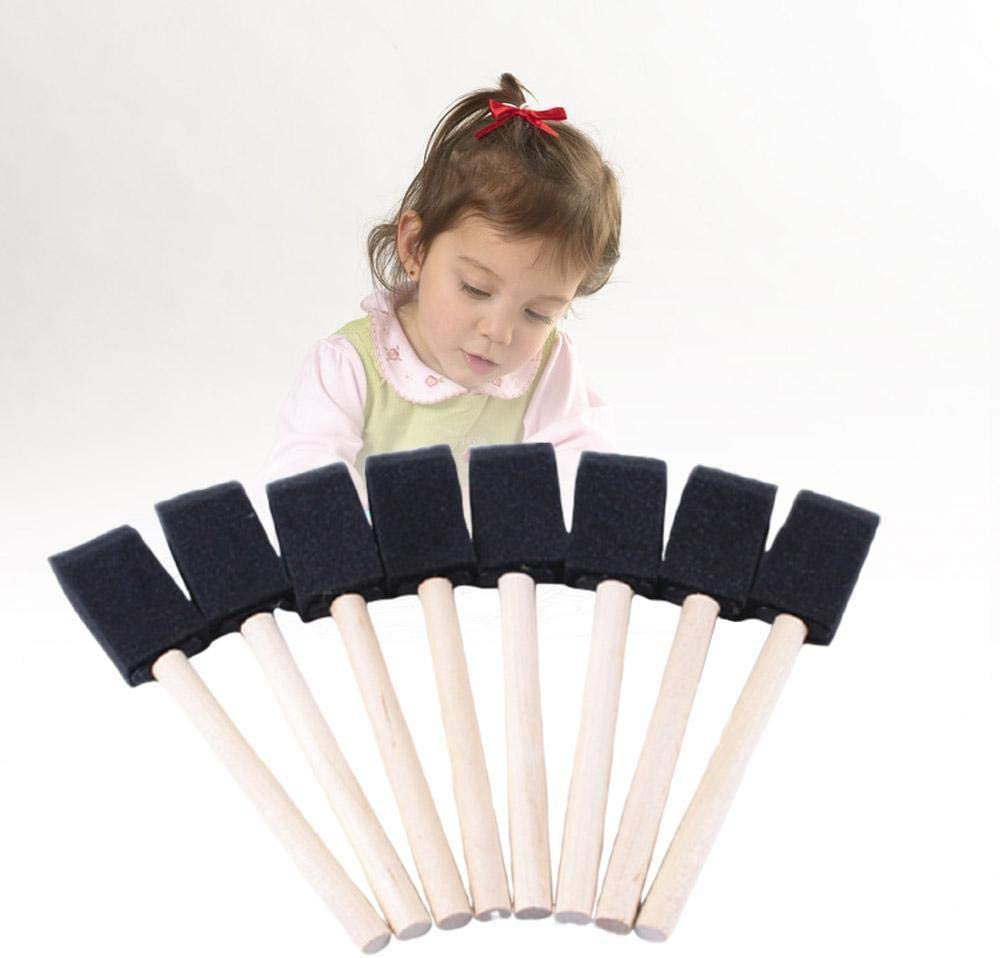 Crafts KyStudio 10 Pieces//Set Painting Sponge Brush Foam Paint Brushes for Acrylics Stains Art Varnishes