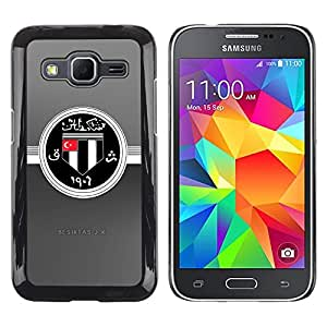 MOBMART Carcasa Funda Case Cover Armor Shell PARA Samsung Galaxy Core Prime - The China Steel Symbol
