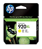 HP CD974AE 920XL High Yield Original Ink Cartridge, Yellow, Pack of 1
