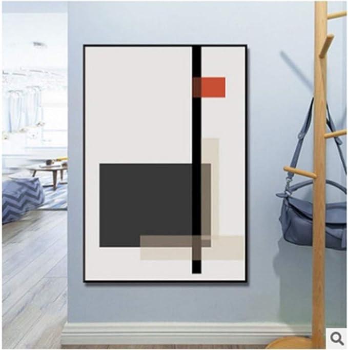 LONYENMA Porche Pintura Decorativa Moderno Minimalista Luz Corredor De Lujo Pasillo Colgantes Pinturas Bauhaus Líneas Geométricas Abstrac: Amazon.es: Bricolaje y herramientas