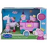 Peppa Pig Princess Peppa's Carriage (Includes Princess Peppa and Sir George figures)