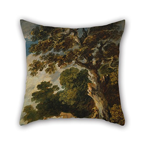 Herdsman Costume - Loveloveu Oil Painting Gainsborough Dupont - A Wooded Landscape With Cattle And Herdsman Pillow Cases ,best For Deck Chair,christmas,car,boy Friend,living Room 20 X 20 Inches / 50 By 50 Cm(each Side