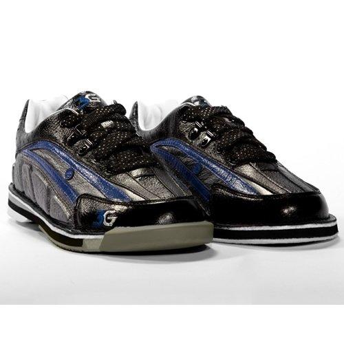 900 Global Tour Ultra Bowling Shoes, Black/Blue, Men's 10.5