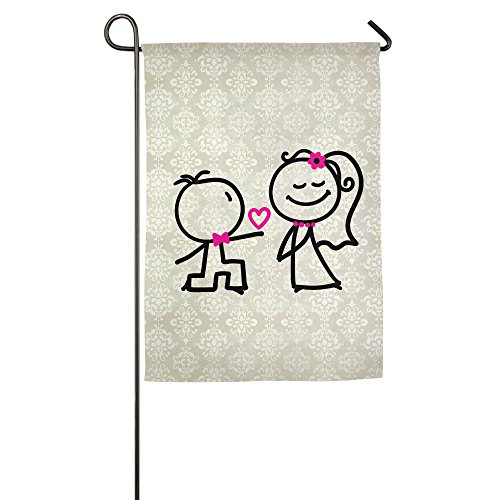 Funny Marry Couple Inspirational Spring Yard Garden Flags Se