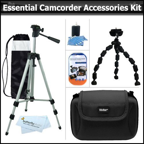Essential Accessory Kit For Samsung SMX-F50 SMX-F50BN/XAA SM