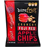 Bare Natural Apple Chips, Fuji & Reds, Gluten Free + Baked, 0.53 Ounce Bags (Pack of 24) by Bare Fruit