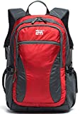 EcoCity Multifunctional Backpack Sport Camping Traveling Outdoor Hiking Daypack BP0148R1 (Red)