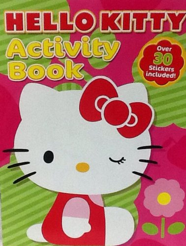 Hello Kitty! Coloring, Sticker, & Activity Book: 32 Pages!!! Tear & Share Pages! Matching Card Game Cut Out on Back Cover!