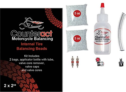 Counteract Tire Balancing Beads and Installation Bottle ATV-3 by Counteract