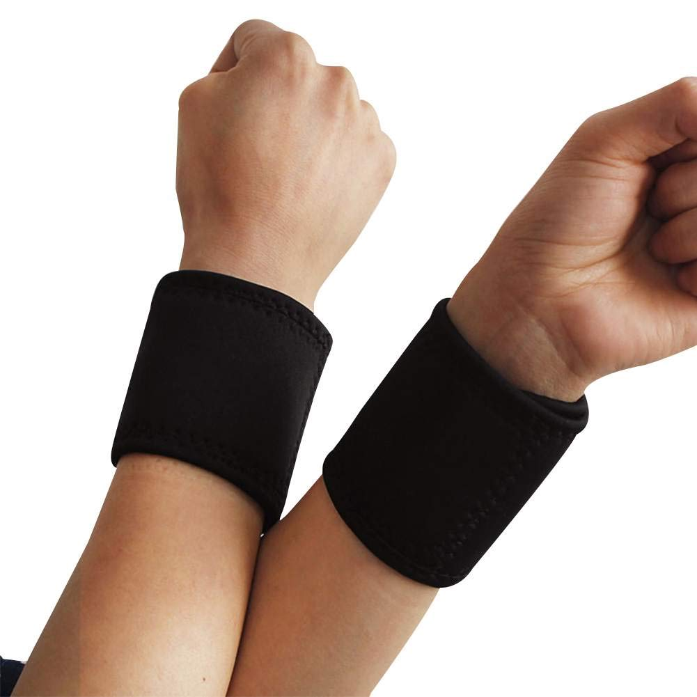 Warm Wrist Brace Out Sports Wrist Support Compression Strap for Working Out - Pack of 1 Pair