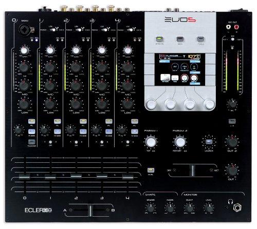 Ecler EVO 5 Pro DJ Mixer with MIDI, - Ecler Mixers Dj