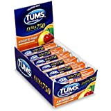 TUMS Extra 750 Assorted Fruit Flavors 12 Rolls (Assorted Fruit)
