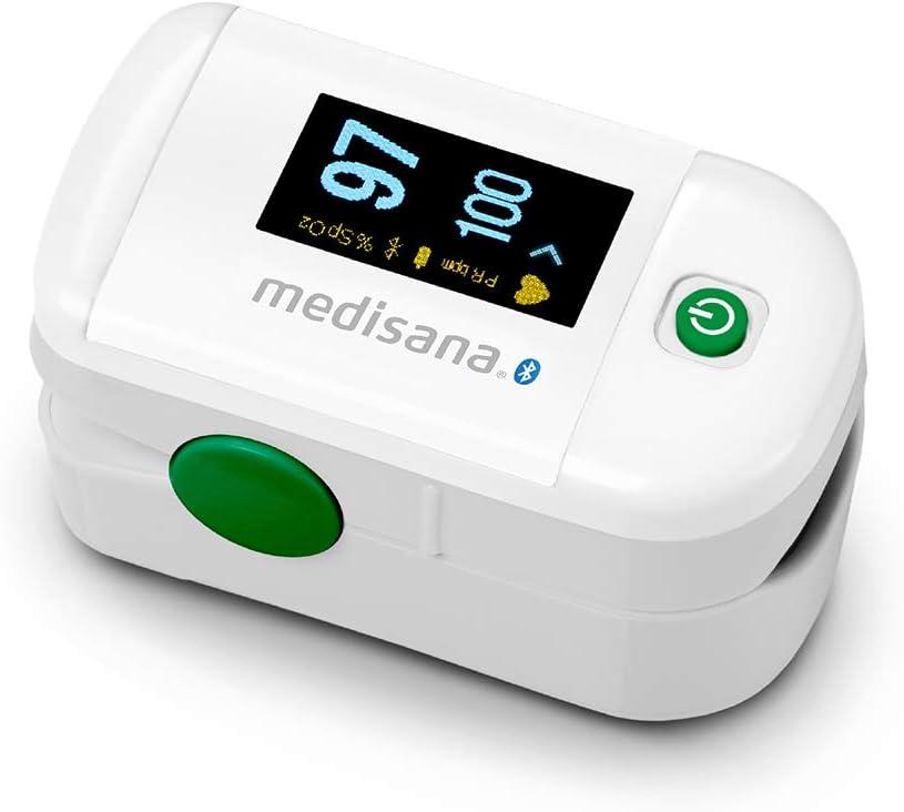 Pulsioxímetro Medisana con Bluetooth y APP