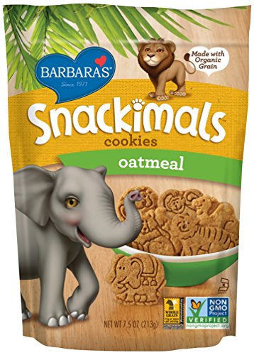 Barbaras Snackimals Cookies Oatmeal Ounce
