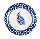 Vera Bradley Cocktail Plates in Boysenberry