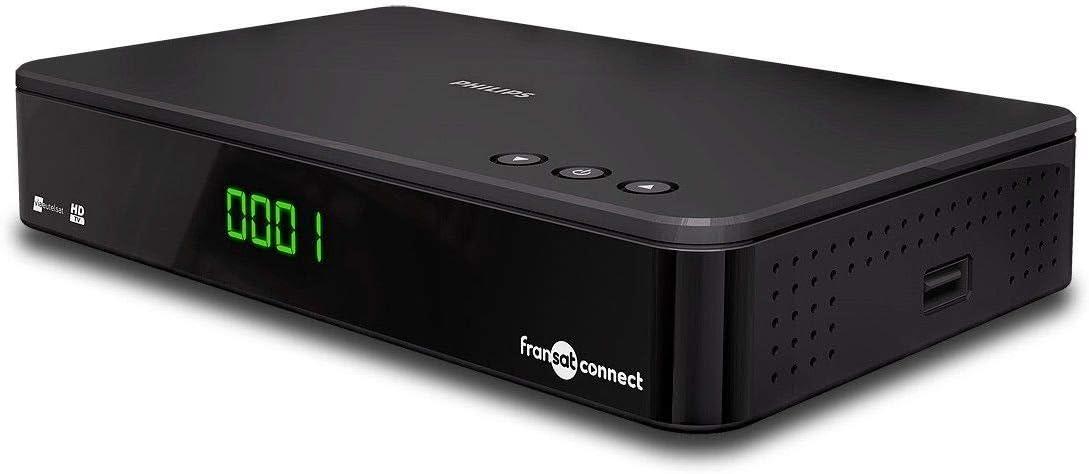nero Philips TNT FRANSAT CONNECT DSR3331/F ricevitore TV satellitare ad alta definizione