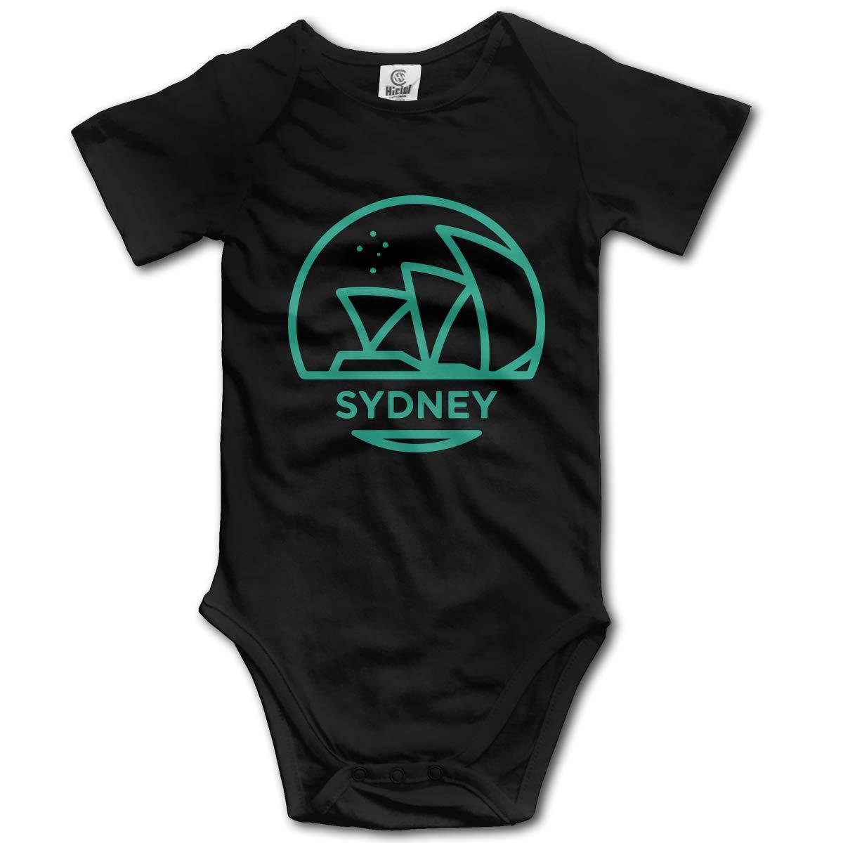 J122 Sydney Suit 6-24 Months Newborn Short Sleeve Baby Clothes Climbing Clothes