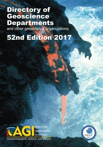 Directory of Geoscience Departments 2017