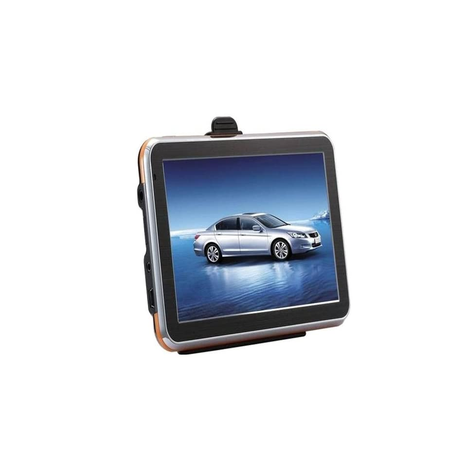 4.3 Inch TFT Touch Screen GPS Navigator, 1677pixels, Resolution480*272, FM Transmitter, Bluetooth hand free function, AV IN function, RAMDDR128, FLASH ROM4G, OS WINCE 6.0  In Dash Vehicle Gps Units  GPS & Navigation
