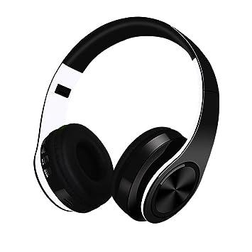 Auriculares bluetooth, auriculares inalámbricos estéreo inalámbricos/con cable de alta fidelidad con ranura para